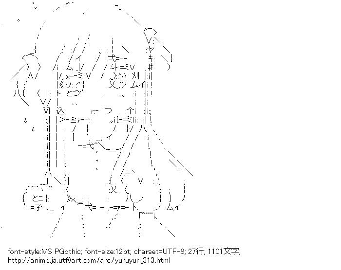 [AA]歳納京子 (ゆるゆり)