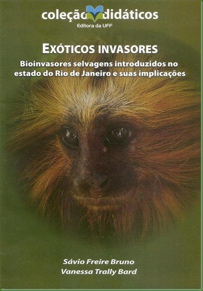 Livro Exóticos Invasores