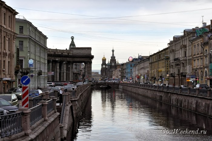 Канал Грибоедова в Питере