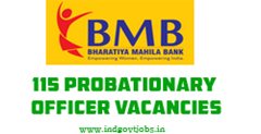 Bhartiya Mahila Bank Recruitment 2013 Probationary Officer