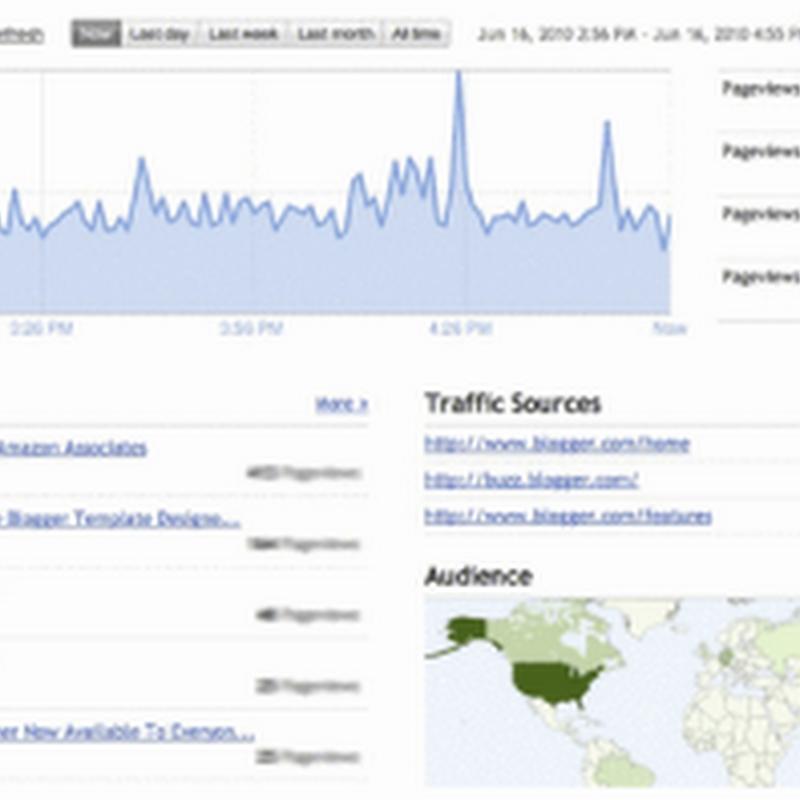 Gli strumenti di analisi del traffico e le statistiche (diverse).