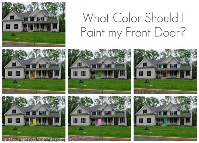 How To Paint A Front Door how to paint a front door {and my color reveal!} - east coast