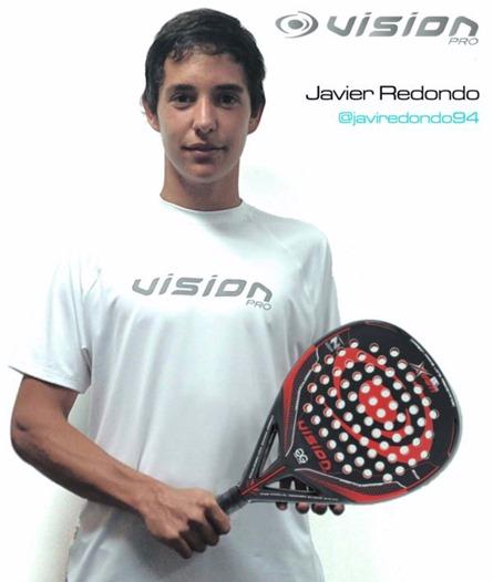 VISION Pro patrocinará al jugador Javier Redondo Méndez esta temporada 2014.