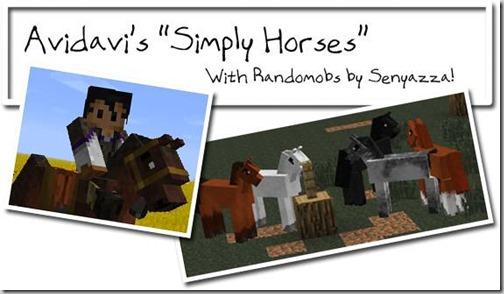 Simply-Horses-Mod-Minecraft