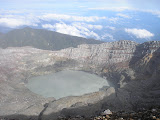 Dempo crater and crater lake (Daniel Quinn, October 2011)