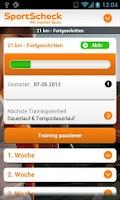 Screenshot of SportScheck Laufsport