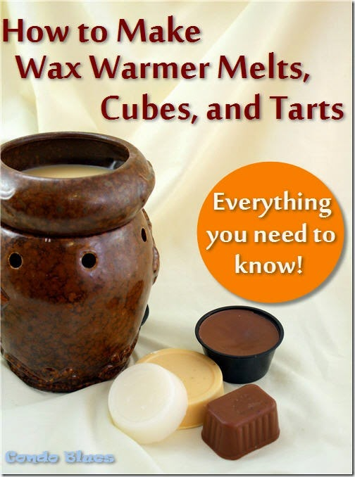 everything you need to know to make wax warmer melts