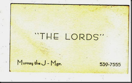 lords card