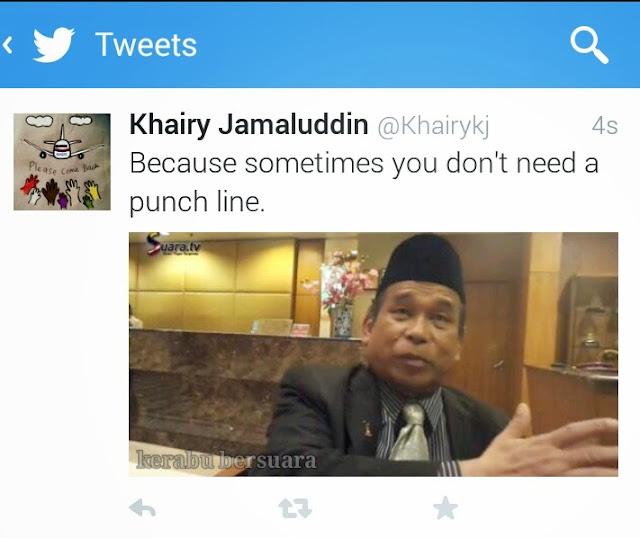 #pray4mh370: Respon KJ Apabila Raja Bomoh Nak Tampar Beliau