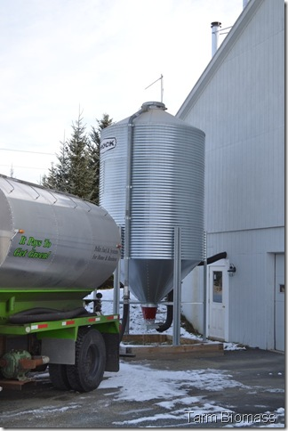 Froling P4 Silo Filling 9