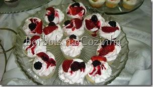 Curso de Cupcakes Frutas Vermelhas