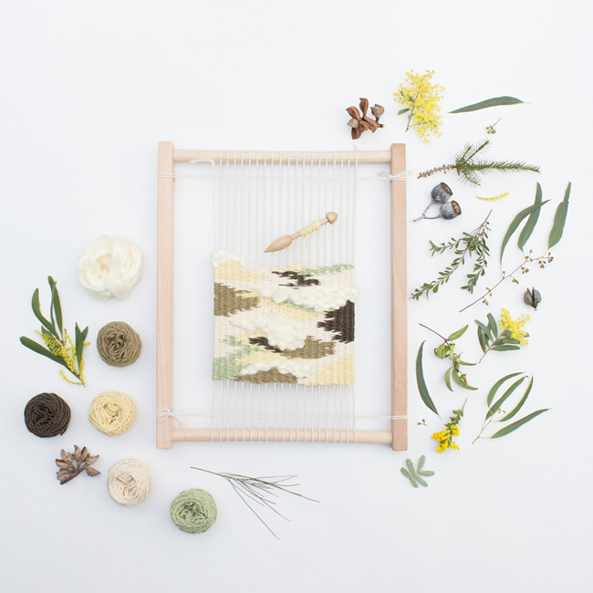 Eco Weaving Kit by Alchemy - Eucalyptus Forest