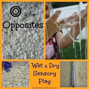 Wet-Dry-Sensory-Play from Fantastic Fun and Learning