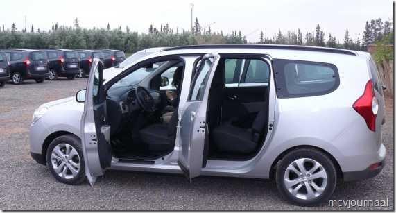 Dacia Lodgy testdagen 22