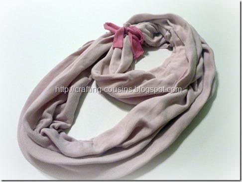 no sew infinity scarf (5.5)