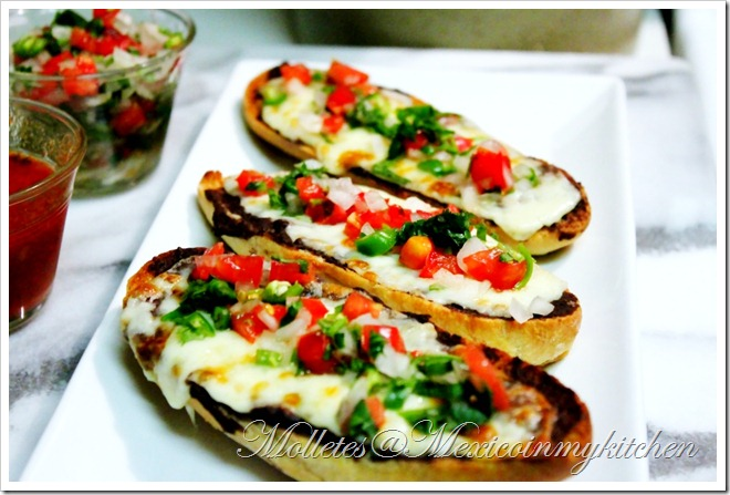 Mexico in My Kitchen: Molletes... or Should I Say The Mexican ...