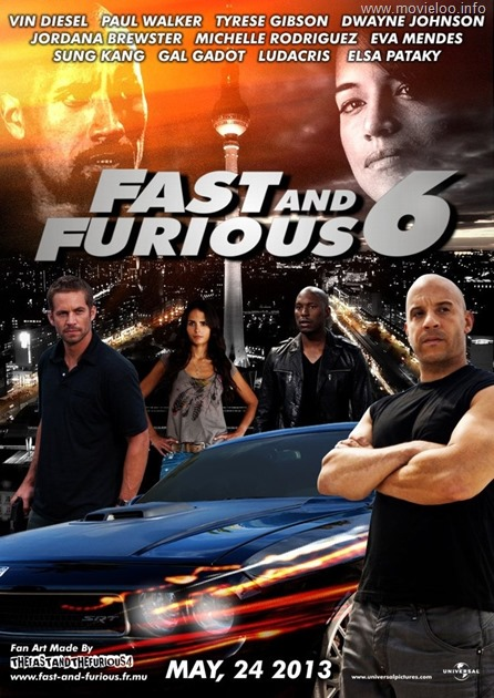 Fast And Furious 6 2013 NEW Cam XViD mp3-MiLLENiUM