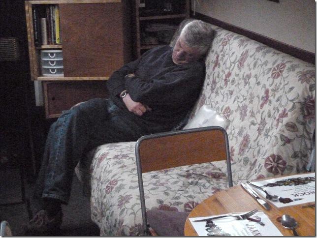 Ian asleep