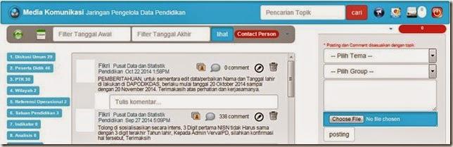 Pemberitahuan Admin PDSP tentang edit nama dan tanggal lahir di dapodik