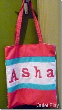 Asha's bag