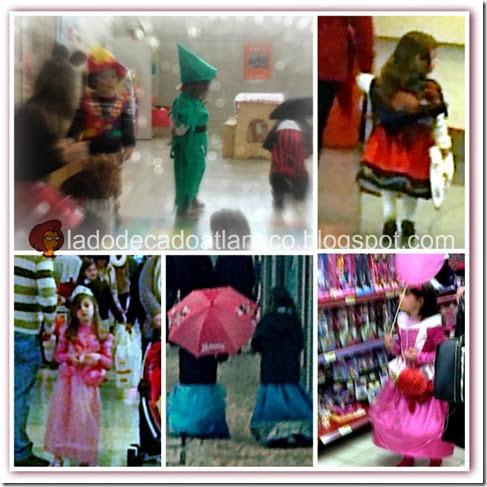 Imagens de crianças fantasiadas para o Carnaval/2014