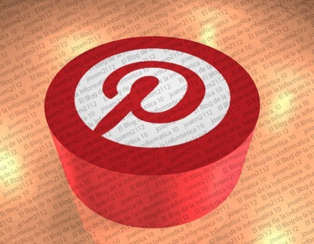 Botón Pinterest en fotos de blogger - imagen principal del post