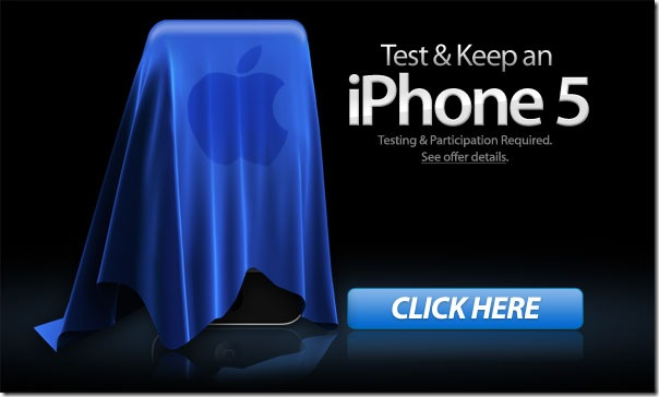 Free test and get iPhone5 only for US citizen_