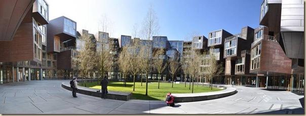 Résidence étudiante Tietgen au Danemark