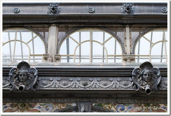 palacio de cristal - parque del retiro - madrid - simetría