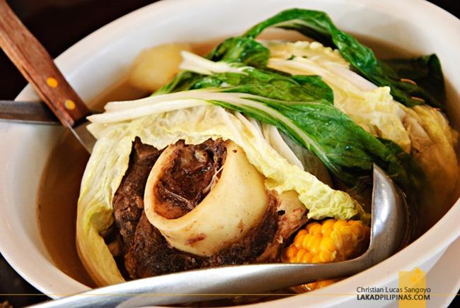 Bulalo at Leslie's Tagaytay
