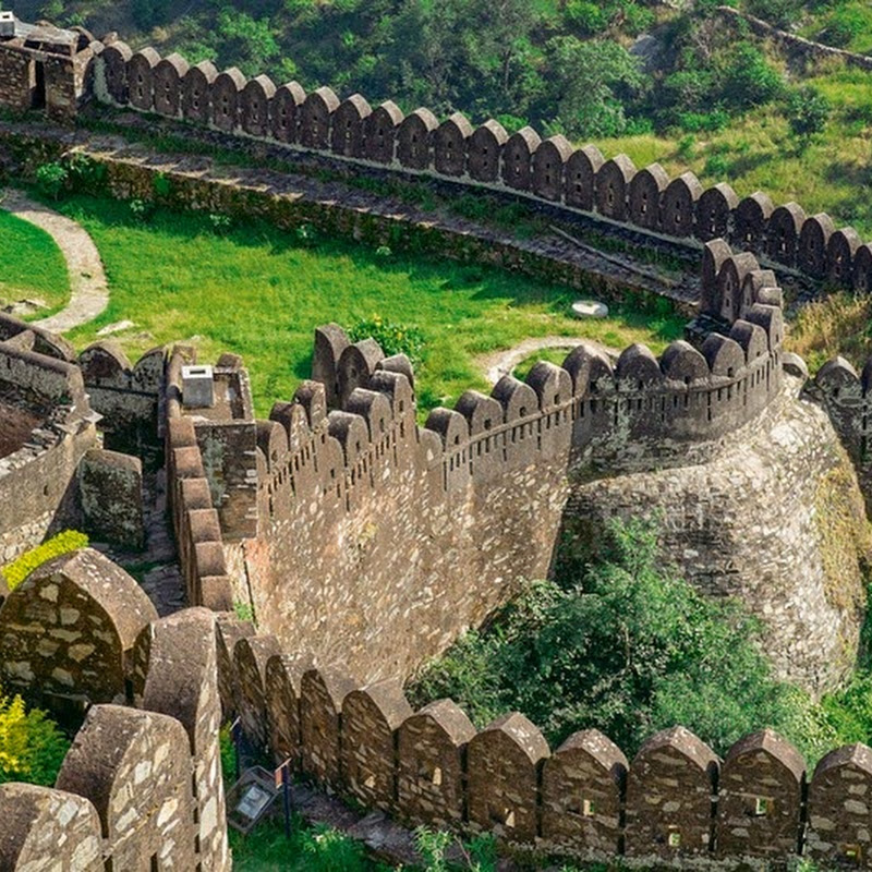 The Great Wall of Kumbhalgarh Fort