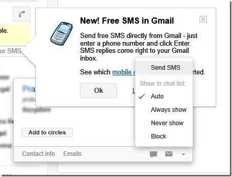 gmail free sms2