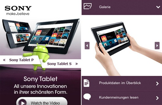Sony-Tablets Mobile