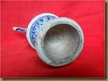 Teko keramik Yuan - bawah