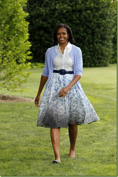 Michelle Obama Boy By Band Of Outsiders 1
