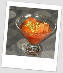 crème de papaye polaroid
