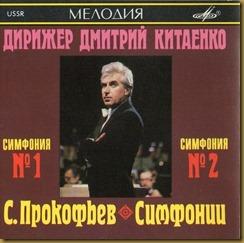 Prokofiev Sinfonía Clásica Kitajenko Melodiya