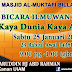 Bicara Ilmuwam Islam siri -7