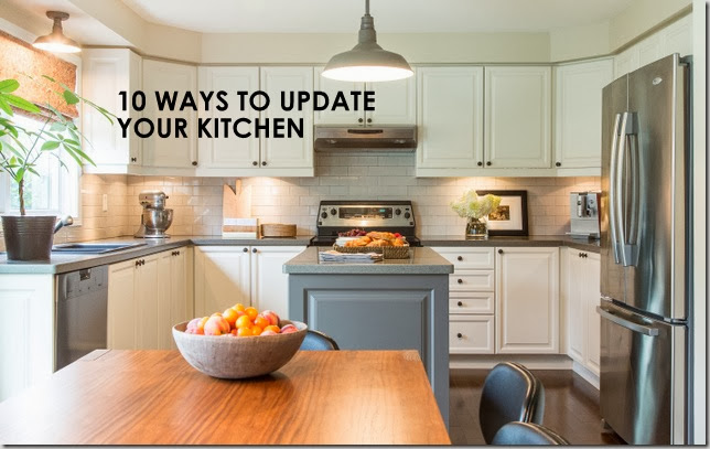 Ten Ways To Update Your Kitchen Before And After