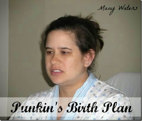 Many Waters The Birth Plan