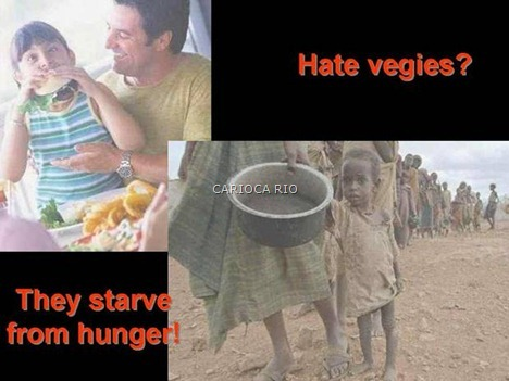 odeia verduras