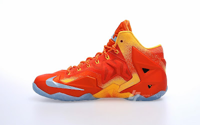 nike lebron 11 gr atomic orange 2 02 forging iron A Sizzling Look at Nike LeBron XI Forging Iron