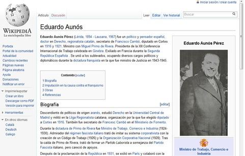 Eduardo Aunós