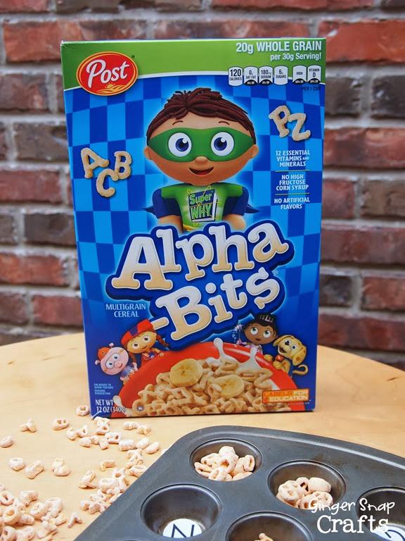 Alpha-Bits game for preschoolers