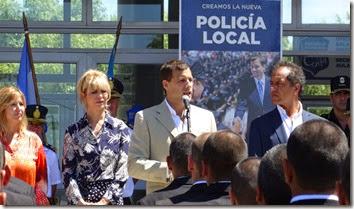 EL acto estuvo encabezado por el intendente, Juan Pablo de Jesús, y el Gobernador, Daniel Scioli