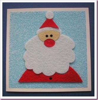 Asda Fuzzy felt card