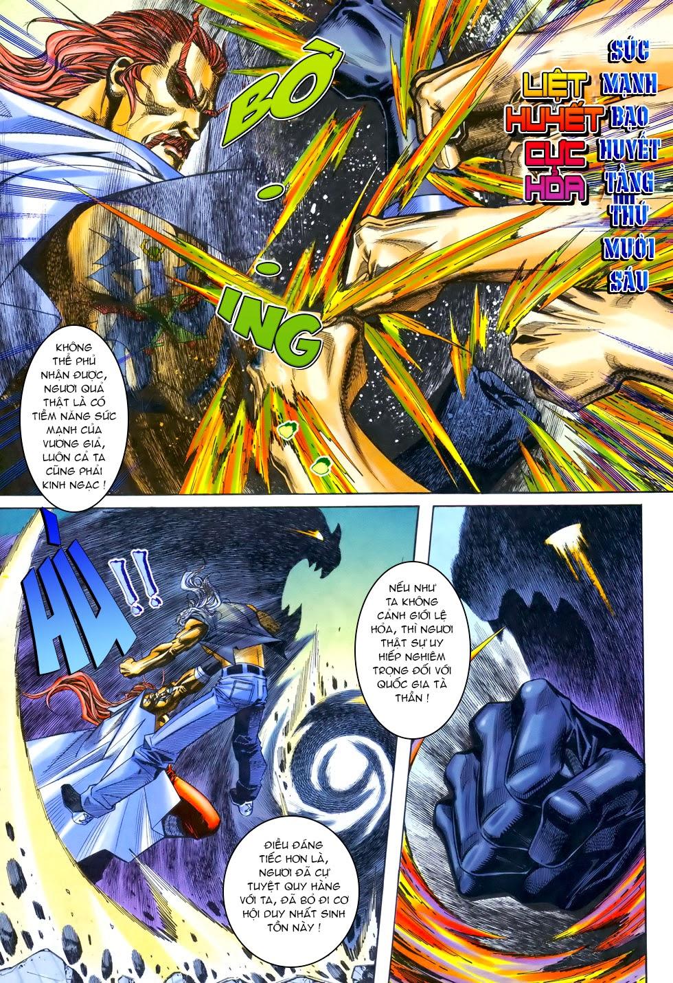 X Bạo Tộc chap 67 - Trang 18