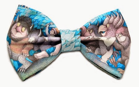 Where the Wild Things Are Hair Bow from Unique Chic Bowtique