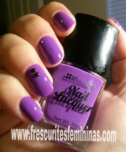 Frescurites Femininas, purple polish