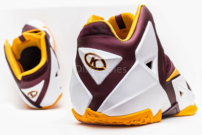 nike lebron 11 pe ctk home 1 05 First Look at Nike LeBron 11 Christ the King Home PE